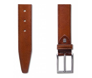 Profuomo Belt Calf Leather Cognac
