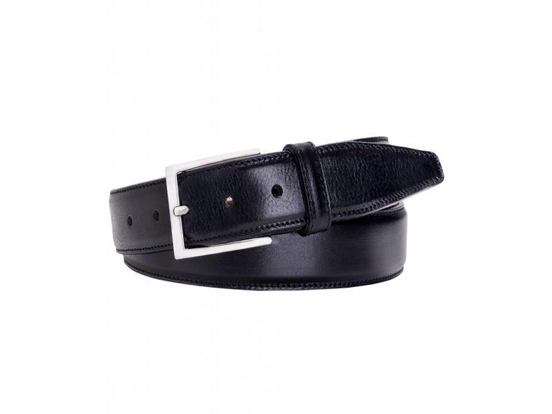 Profuomo Belt Calf Leather Black