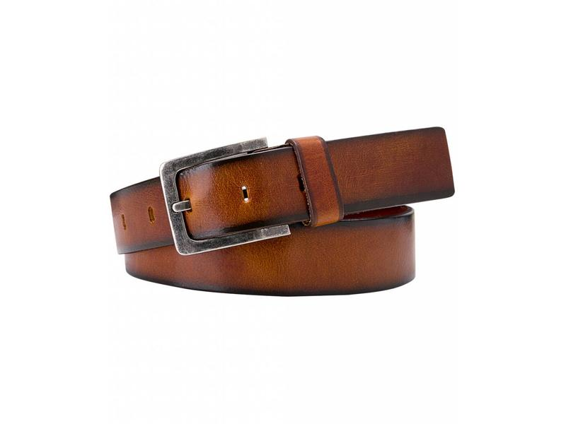 Profuomo Belt Leather Polish Cognac
