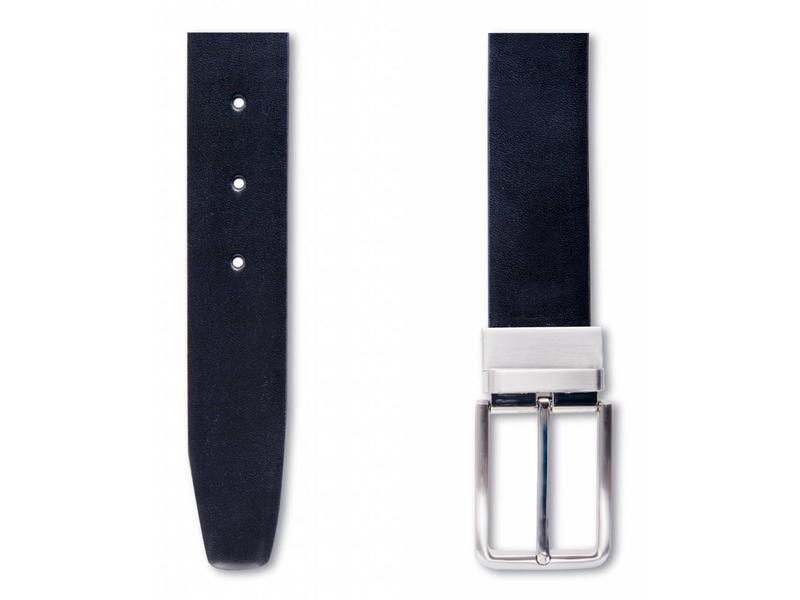 Profuomo Belt Double Face Blck-Moro