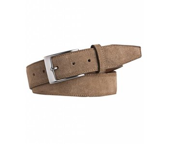 Profuomo Belt Suede Taupe