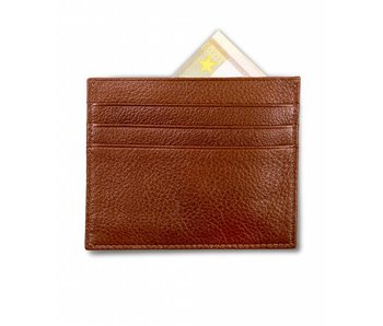 Profuomo Wallet Cognac leather card