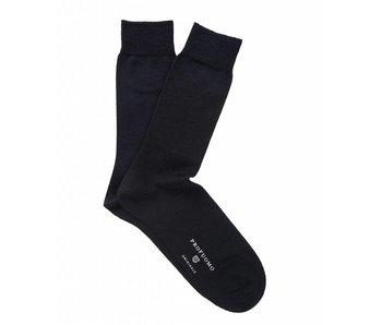 Profuomo Two-pack black wool-silk