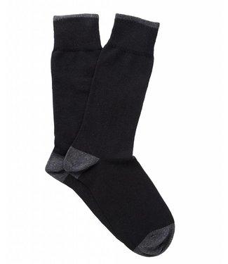 Profuomo Two-pack black cotton