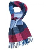 Profuomo Scarf Red Check In Box