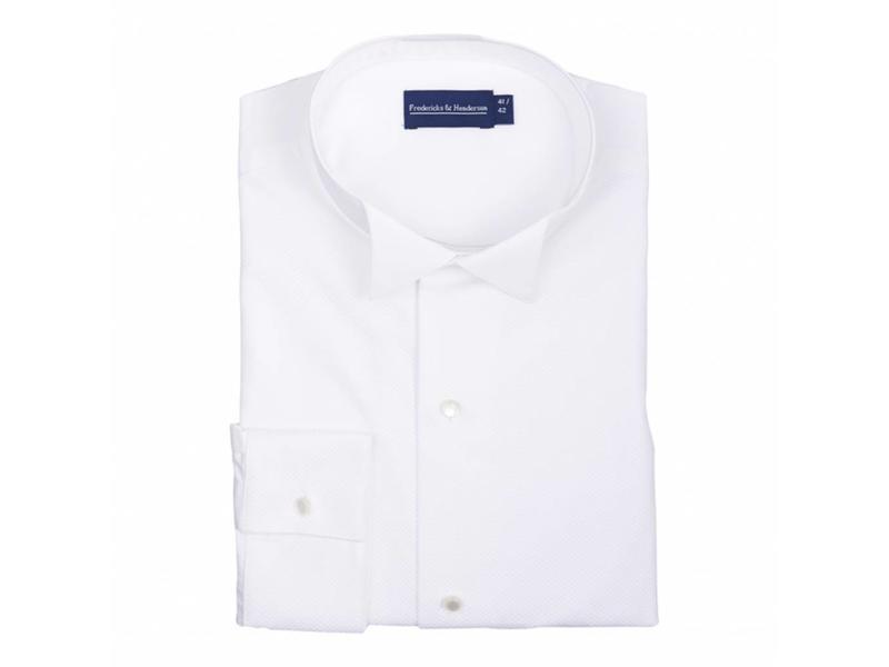 F&H  Rokwit shirt - vest- strik