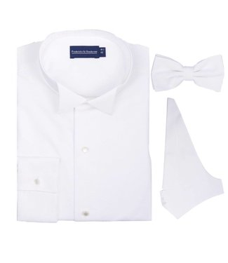 Fredericks&Henderson  Rokwit shirt - vest- strik