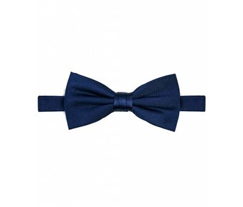 Michaelis Bowtie navy solid silk.