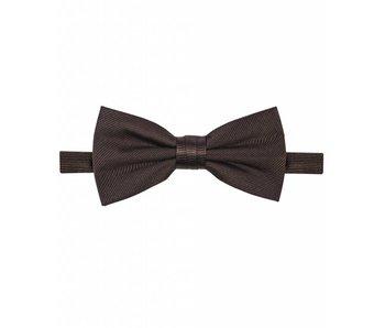 Michaelis Bowtie brown solid silk.