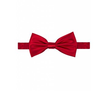 Michaelis Bowtie red satin polyester.