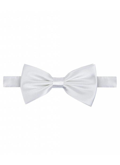 Michaelis Bowtie white satin polyester.