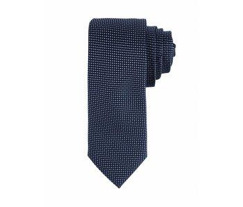 F&H  Navy silk tie