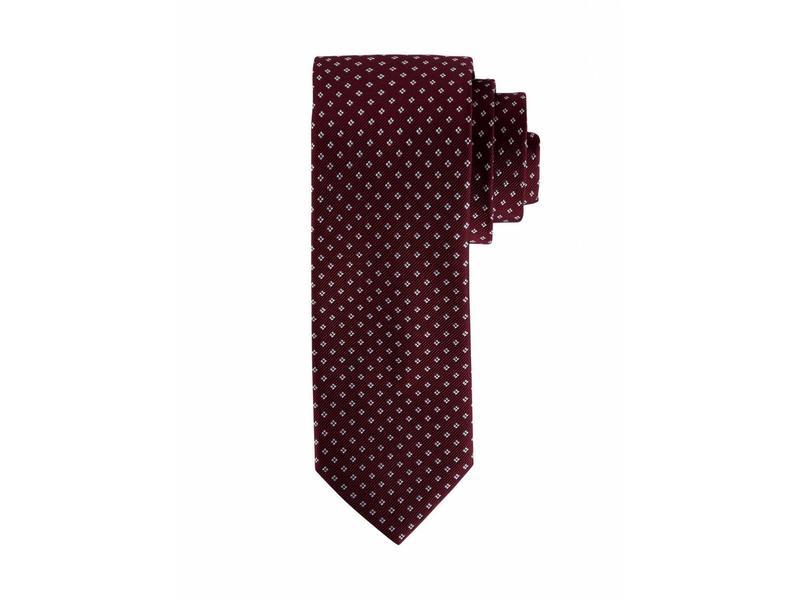 F&H  Red silk tie