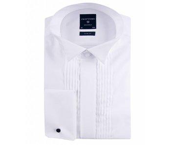 Profuomo Originale smoking shirt plisse