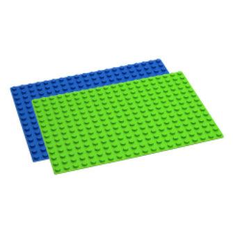 Hubelino Hublino Grondplaat 280 noppen, blauw