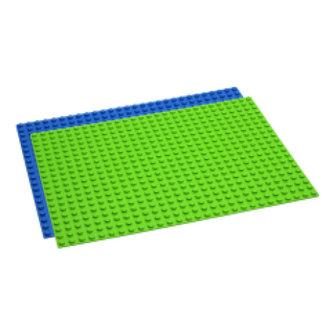 Hubelino Hubelino Grondplaat 560 noppen, groen