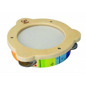 Hape Houten kinder tamboerijn