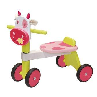 I'm Toy Loopfiets koe roze