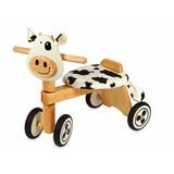 I'm Toy Loopfiets koe zwart/wit