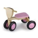 New Classic Toys Loopfiets 4 wielen roze