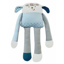 I'm Toy Vrolijke Knuffel Schaapje Blauw