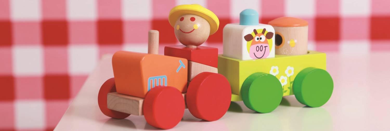 Uniek houten babyspeelgoed?