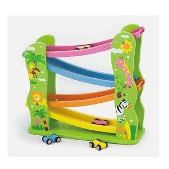 Viga Toys Houten Racebaan