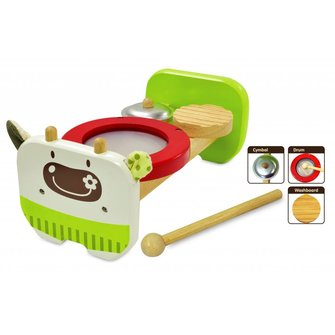 I'm Toy Koe Muziekbankje Groen