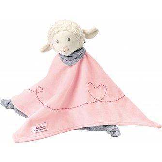 Käthe Kruse baby Knuffeldoekje schaap roze