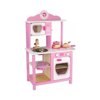 Viga Toys Houten Prinsessen keuken