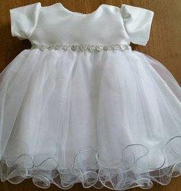 Wit baby jurkje doopjurk Febe