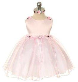 Bruidsmeisjes jurk Baby feestjurk May roze