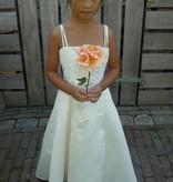 Bruidsmeisjes jurk Helene ivoor