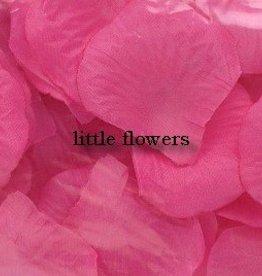 Strooiblaadjes donker roze
