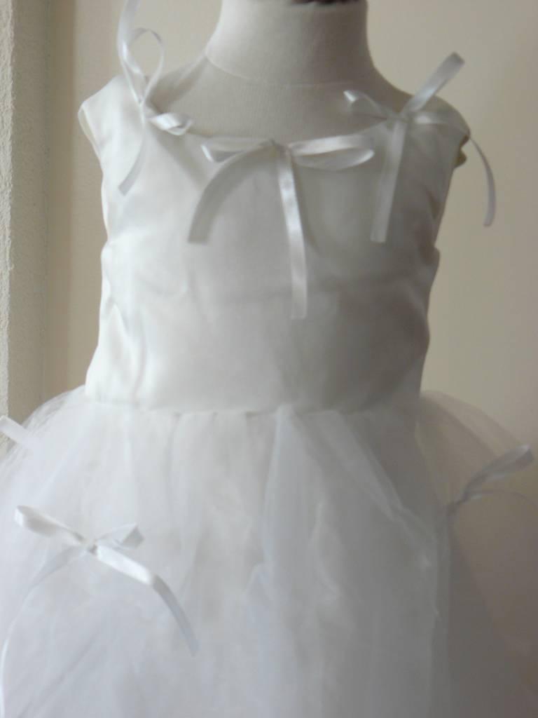 Bruidsmeisjes jurk feestjurk Thirza ivoor