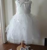 Bruidsmeisjes jurk feestjurk Thirza wit