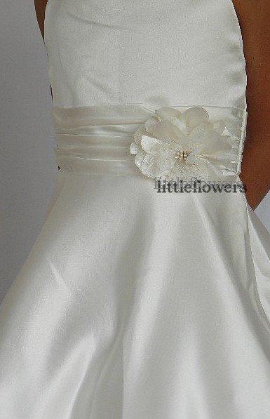 Bruidsmeisjes jurk Lizette ivoor
