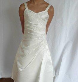 Bruidsmeisjes jurk Nanette ivoor