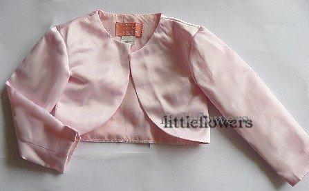 Bolero satijn roze