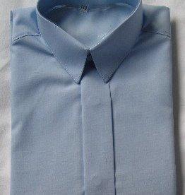 Jongens overhemd licht blauw