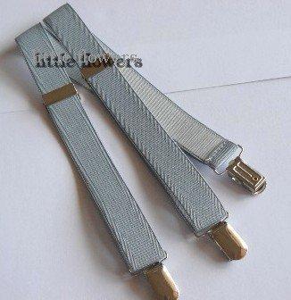Bretels zilvergrijs