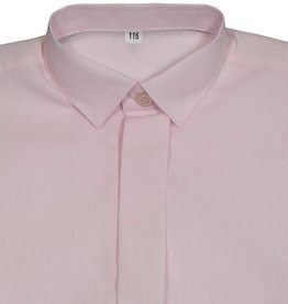 Jongensoverhemd licht roze