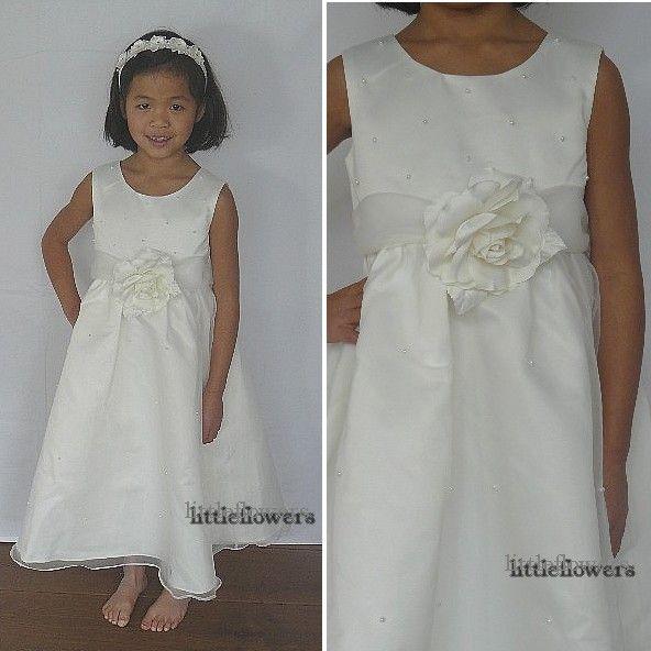 Bruidsmeisjes jurk - Feestjurk Sophie ivoor