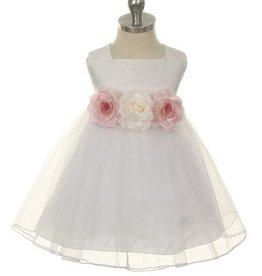 Baby jurk  Denise wit