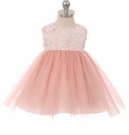 Baby feestjurk Lize  roze