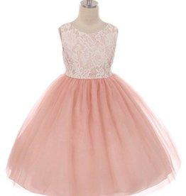 Bruidsmeisjes jurk Lize roze