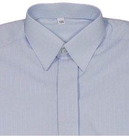 Overhemd lichtblauw met streepje