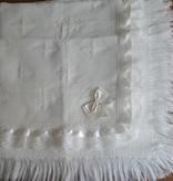 Doopkleed ivoor met kant en strik