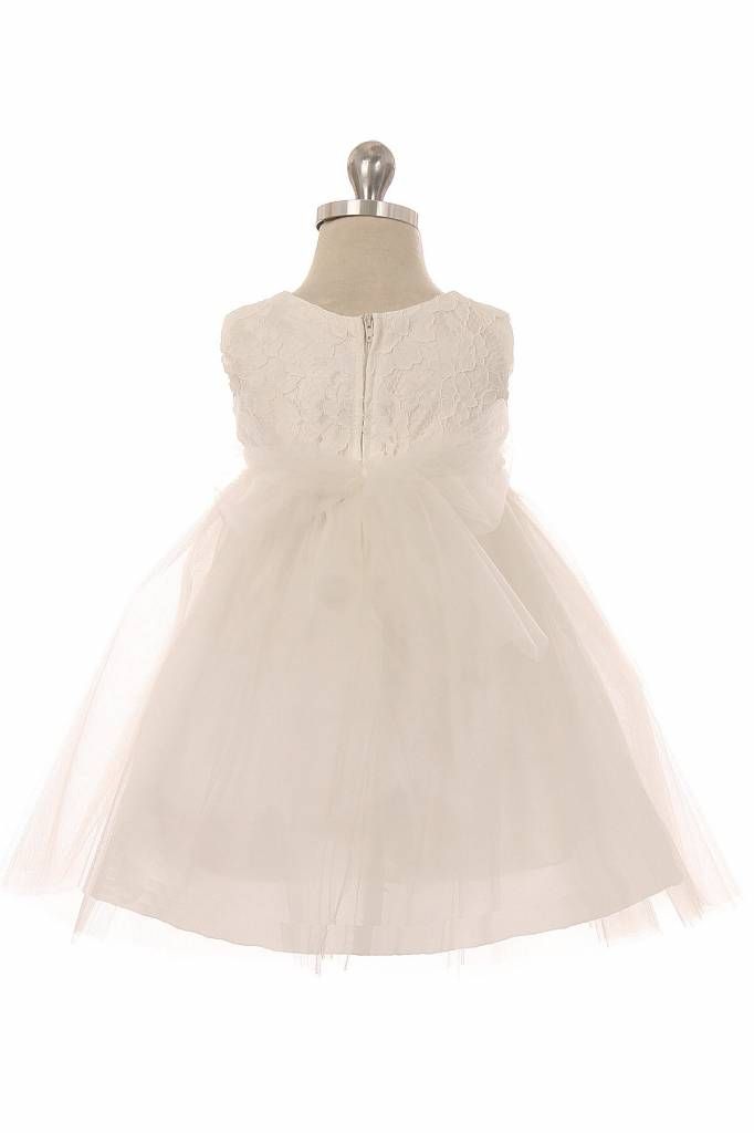 Baby jurk doopjurk Marlene ivoor