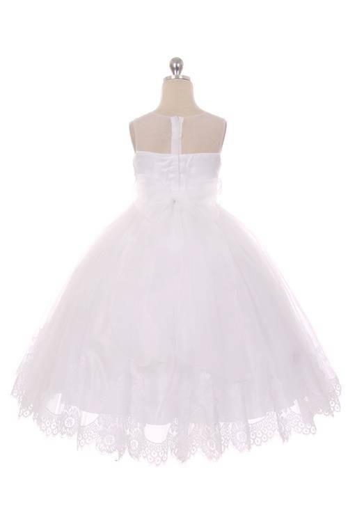 Bruidsmeisjes jurk Pauline ivoor